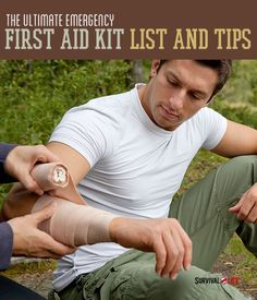 The Ultimate Emergency First Aid Kit List And Tips -By Survival Life Contributor on April 22, 2014