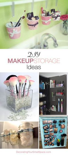 DIY Makeup Storage Ideas • Great Ideas & Tutorials!