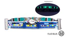 Bracelet Hipanema Fluo Blue - Hipanema - Brazilian Bikini Shop #brazilianbikinishop #BBSFashion #hipanema