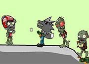 Lobo Negro Vs Zombies | Juegos Plants vs Zombies - jugar gratis