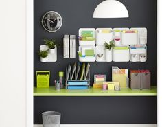 Go utterly modern with our Urbio Magnetic Modular System that can easily be mounted to your wall and customized to your storage needs!