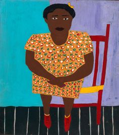 Mary Lizzie by William H. Johnson / American Art