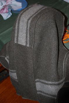 Wool Blanket Anorak Extravaganza and follow link to other photos
