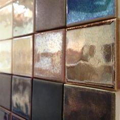 Metallics! #tile