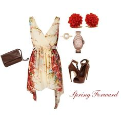 Spring Forward, created by luckyslady.polyvore.com