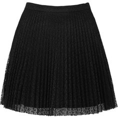 TOPSHOP Black Lace Pleat Mini Skirt ($20) ❤ liked on Polyvore featuring skirts, mini skirts, bottoms, saias, faldas, black, pleated miniskirt, topshop skirts, lace skirt and short mini skirts