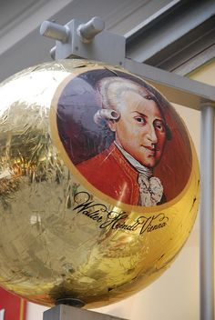 Mozarts Chocolate Ball sign