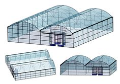 Tunnel Greenhouse, Indoor Farming, Large Greenhouse, Aquaponics Greenhouse, Build A Greenhouse, Hydroponic Gardening, Homemade Hydroponics, Commercial Greenhouse, Livestock Farming
