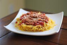 Spaghetti Squash, so good & good for you!