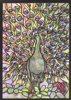 Victoria (12-18 division) from Tiffany Designs Stained Glass Coloring Book: http://store.doverpublications.com/048626792x.html
