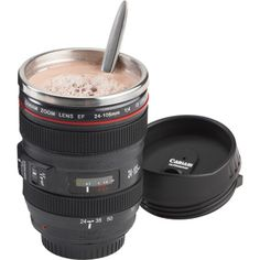 Camera Lens Coffee Mug — Just the Right Aperture