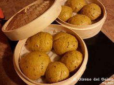 Provate questa ricetta di panini al vapore con semi di lino cotti in modo alternativo con la vostra vaporiera in bambu
