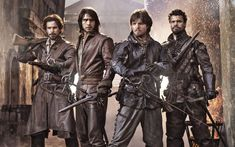 The Musketeers, episode 1, BBC One, review - Telegraph