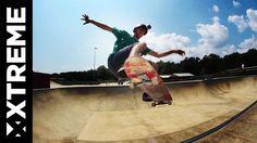 Pro Skateboarder Josh Katz mit GoPro Headmount und Hero3+ zeigt 12 Tricks.