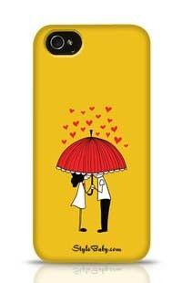 Love Couple Apple iPhone 4 Phone Case