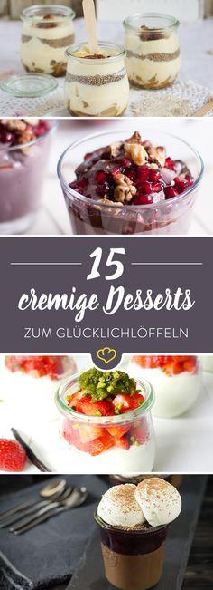 Genieß das Leben mit dem großen Löffel - und einer großen Portion süßem Dessertglück. Ob schokoladig oder fruchtig: extra cremig und himmlisch gut!
