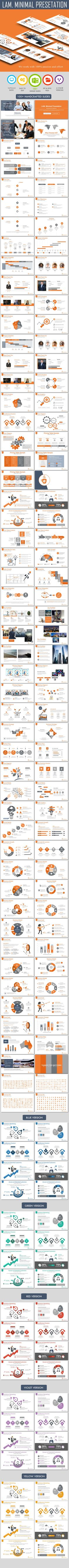 Minimal PowerPoint Presetation Template