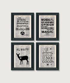 Harry Potter druckt  Worte unerschöpfliche Quelle der von Motif4U