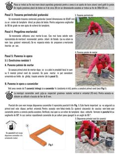 Cum se construieste un gratar din caramida? Bbq Grill Diy, Outdoor Barbeque, Brick Bbq, Brick Construction, House Plans, 1, How To Plan, Garden, Photos