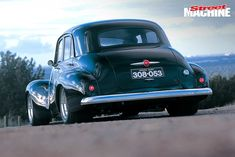 Street Machine of the Year was won in 1994 by Colin Townsend's wide-body FJ Holden. Ten years later, Colin offered Simon Telford the chance to drive the car. Australian Muscle Cars, Aussie Muscle Cars, Holden Muscle Cars, Holden Australia, Automotive Art, Hot Cars, Custom Cars, Cars And Motorcycles, Classic Cars