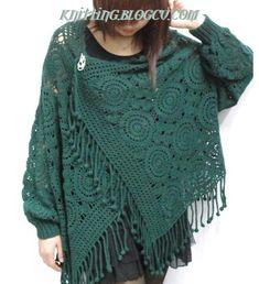 modern-orgu-modelleri-yesil-h%C4%B1rka-pancho-crochet-new-hand-made-models-pattern.jpg (536×588)