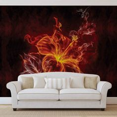 Huge Fire Flower Photo Wallpaper Mural £44.99 - £54.99 This Stunning Flower Photo Wallpaper Mural is available in several different sizes Made to order, using the highest quality machines & materials 115g/m2 Paper Packaging Dimensions (cm) 118 x 10 x 10 Please allow 14 days delivery Free uk delivery only @ www.totsrus.site