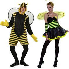 Costumes pour couples Abeilles #déguisementscouples