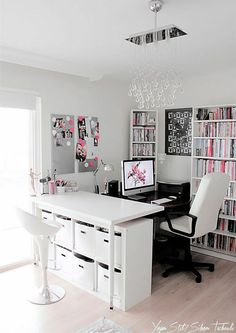 Pink, black, white combination for beautiful bredroom ❤