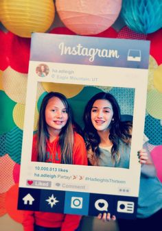 Instagram Your Party- In Real Life And Online! /// Girls Glamour Selfies Parties All Ages Hangout Get Together