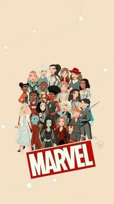 Wallpaper GirlPower Marvel Check more at https://emreerdem.com.tr/wallpaper-girlpower-marvel/...