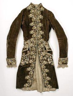 Coat, 1750–99