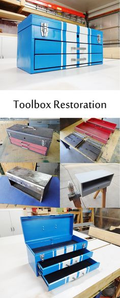 Upgrade an old rusty toolbox!
