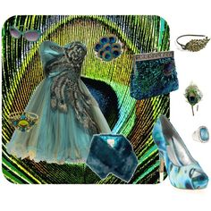 Peacock Formal, created by wendy-sheets on Polyvore