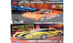 2002 Camaro 1967 Corvette Revell/Monogram Classic Model Kits 1/25 – Shore Line Hobby