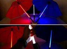 Light Saber Umbrella! Need!!