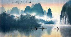 Mountain and Water - Chen Chun Zhong
