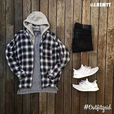 Today's top #outfitgrid is by @j.remyt. ▫️@OAKNYC  ▫️@johnelliottco  ▫️@nudiejeans  ▫️@UNIQLO_JP ▫️@adidasrunning