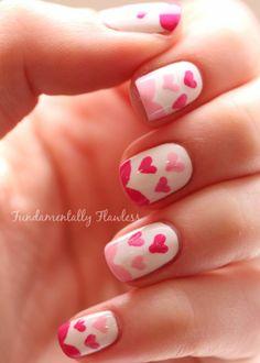 Fundamentally Flawless: Valentine Nails + Tutorial