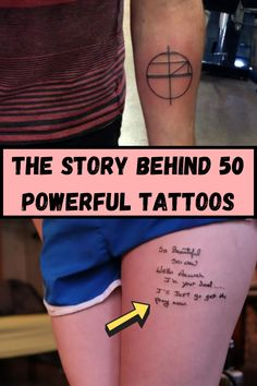 Tattoos are a permanent reminder of something significant or special in our lives. Sometimes people get them just because, holding little to no special significance at all. Still, every tattoo has a story and some of them are just as powerful as the tattoos themselves. Take a look at some of the tattoos that have special meanings and stories behind them. Try not to cry!