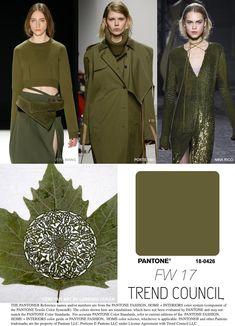 F/W 2017-18 fashion colors trends