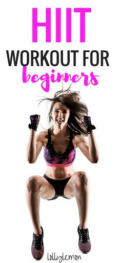 HIIT workout for beginners. Ready for a new workout to burn fat and lose weight fast? Click here for an awesome beginner HIIT workout for weight loss you can do right from your own home. | HIIT workout for women | HIIT workout at home | HIIT workout for beginners | workouts | workouts for women | lollylemon.com #HIIT #workout