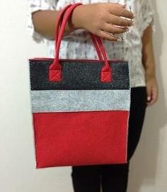 Handmade Bag Felt Custom Design