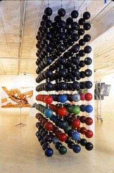 Bowling Ball Curtain by Eugene Ho Park #Bowling_Ball #Eugen_Ho_Park