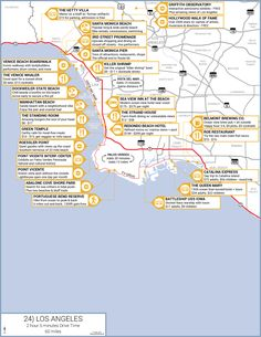 Explore the biggest city along the pacific coast - Los Angeles.  Here are some of the highlights -- http://www.outdoorblueprint.com/plan/pacific-coast-highway-road-trip-guide/southern-california/