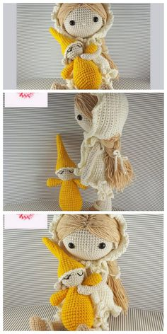 Amigurumi Ballerina Doll Free Pattern Doll Amigurumi Free Pattern, Felt Doll Patterns, Crochet Doll Pattern, Amigurumi Doll, Crochet Dolls, Crochet Vs Knit, Crochet Basics, Sock Dolls, Ballerina Doll