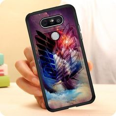 Attack On Titan Art LG G5 Case Planetscase.com Lg G5, Attack On Titan Art, Cool Phone Cases, Awesome