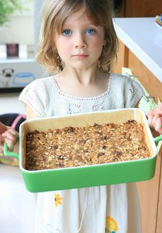 Vegan granola bars, (I've made these twice this week with Posey, I've changed them somewhat..no chocolate, added dried cranberries, agave nectar instead of honey, and add any nuts/fruits you want! I also add a banana to the peanut butter mixture!)