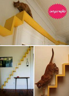 Inspiração para fazer minha Catfriendly-House com toques de decoração