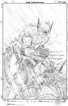 John Romita Jr. Wolverine