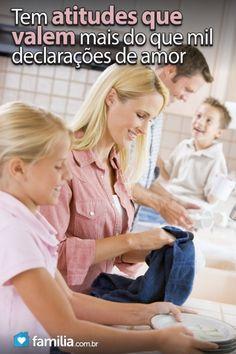 Familia.com.br | 20 #frases que toda esposa e #mae sonha ouvir da sua #familia. #amor #carinho